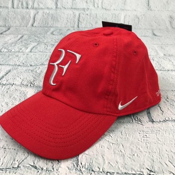b3bde8bdf24 Nike Unisex Roger Federer RF H86 Red Dri-fit Hat
